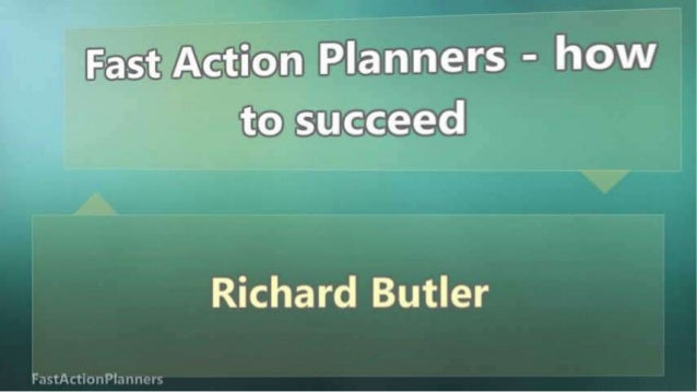 Fast Action Planners - how to succeed