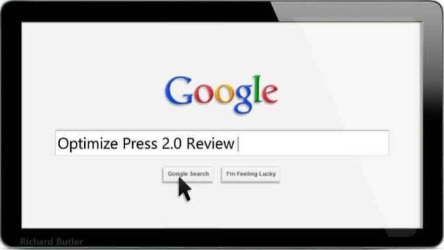 Optimize Press 2.0 Review
