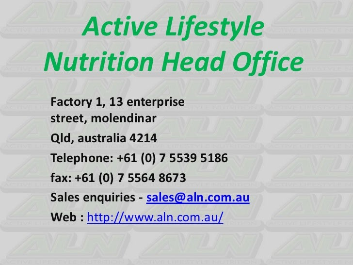 ALN - Vitamins and Minerals   Sachet Packaging in NSW, Australia