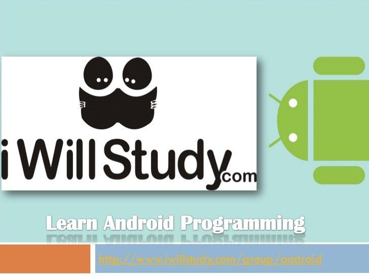 Android Workshop Presentation