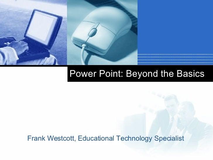 PPT Beyond Basics
