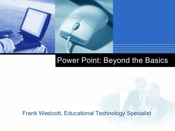 PPT Beyond Basics