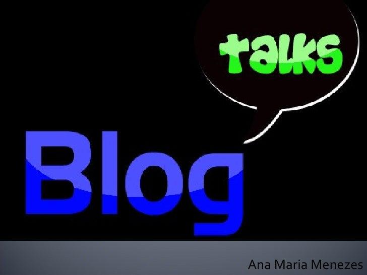 Ppt Blog Talks 2008