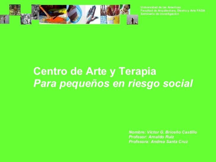 Ppt   Centro De Arte Y Terapia