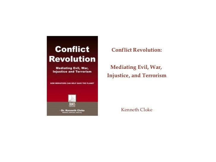 Ppt   Cloke, Ken   Conflict Revolution Scma