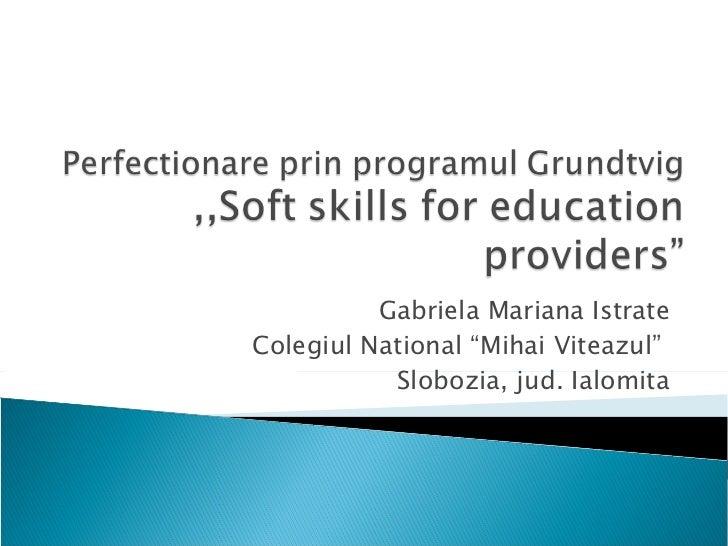 Grundtvig training course