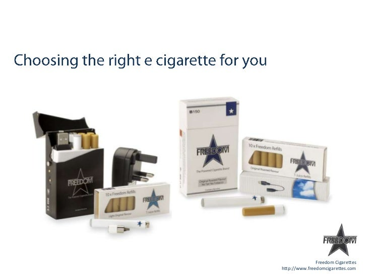 E cigarette options that are available to new users