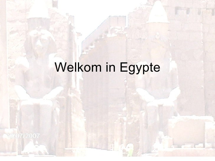 Ppt  Egypte