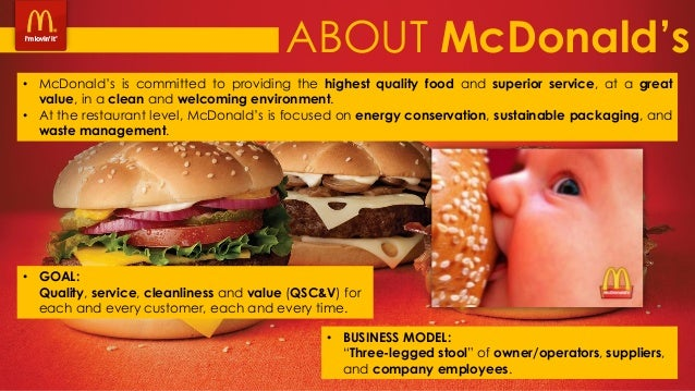 an analysis of the history of mcdonalds A study on the culture of mcdonalds  including canada, latin america and corporate 13 company background history of mcdonald's mcdonalds is a global food service industry, which began its operations in the 1940's  the only time mcdonald's changes are when it is forced to make a change due to regulation or public analysis.