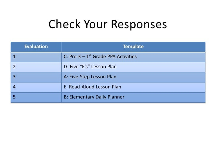Best Five Step Lesson Plan Template Pictures Lesson Plan A 5