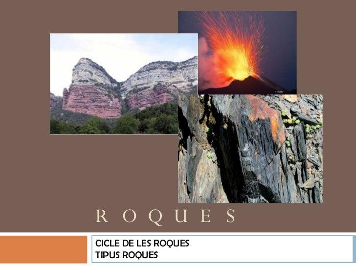 CICLE ROQUES I ROQUES SEDIMENTÀRIES