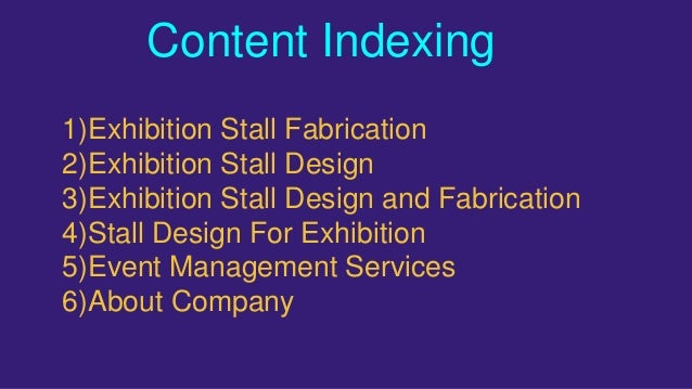 Exhibition Stall Presentation : Eexhibition stall design and fabrication