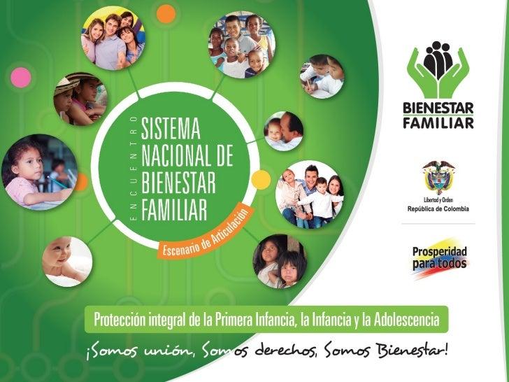 Sistema Nacional de Bienestar Familiar - SNBF