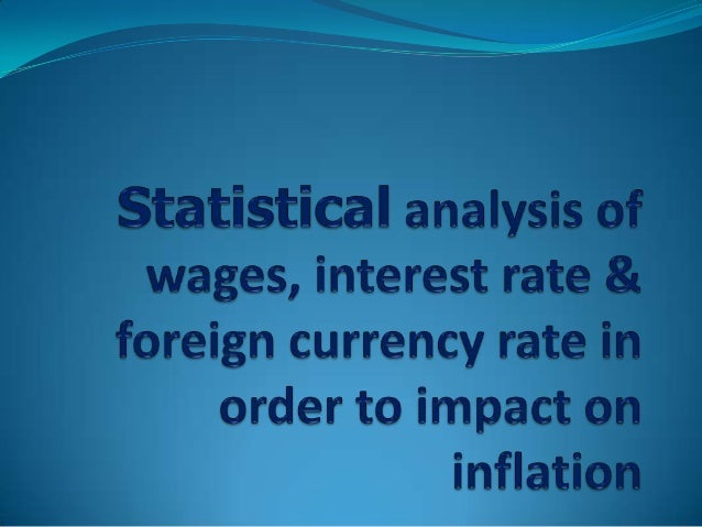 Introduction The inflation is more important to the economy. High rate of inflation are the big issues for developing  c...
