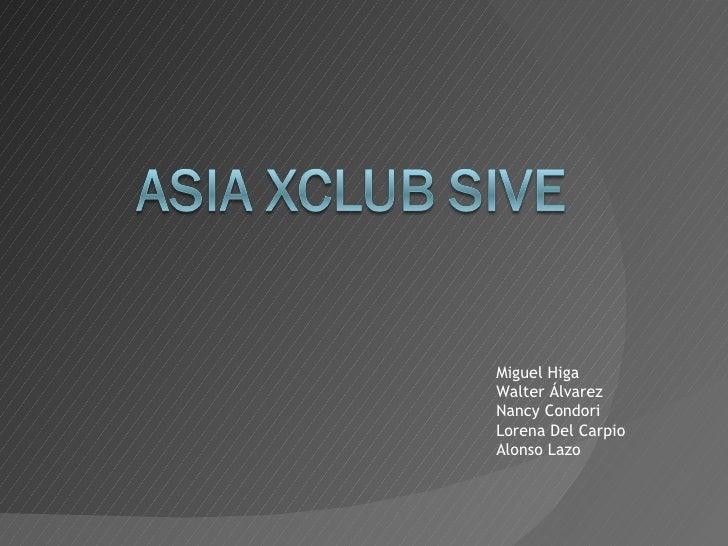 Tarjeta de Descuentos - AsiaXClub Sive