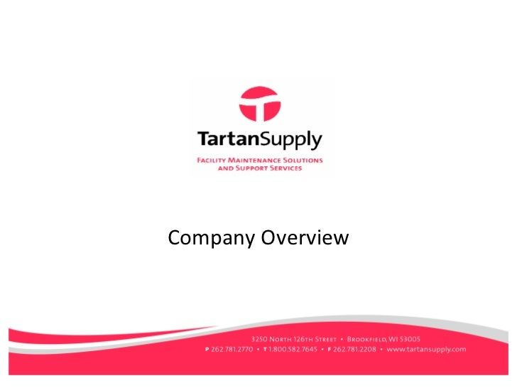 Tartan Supply - Company Overview