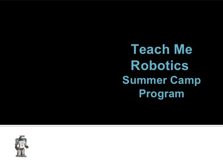 Teach Me Robotics