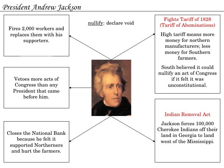andrew jackson essay questions