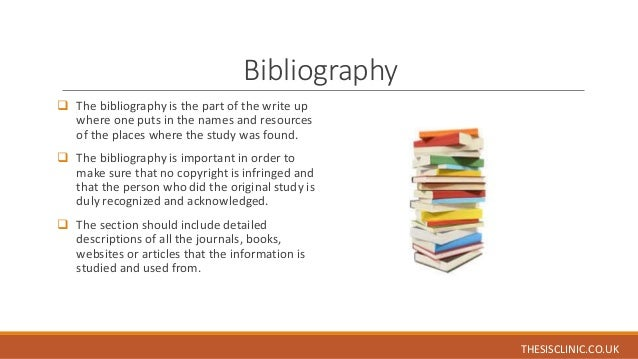 Phd thesis bibliography