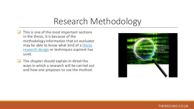 Thesis sections phd