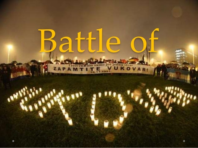 The Battle of Vukovar