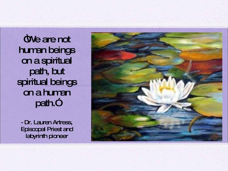 Spiritual Path Definition on a Spiritual Path