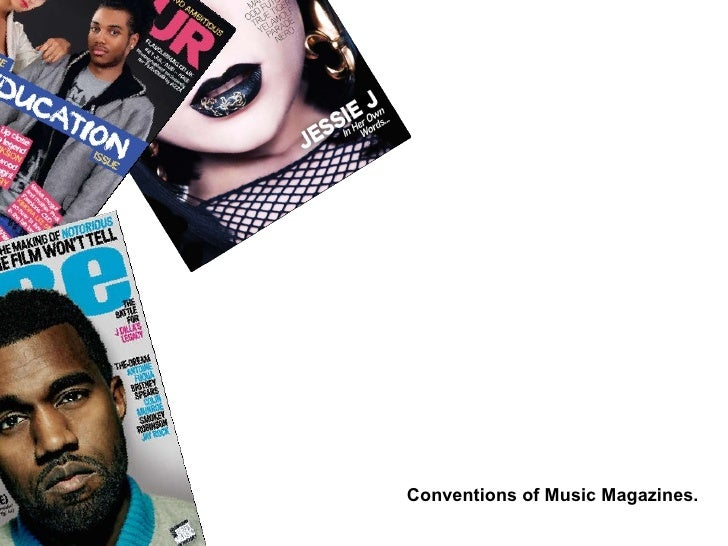 Conventions of Music Magazines.