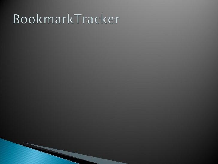 BookmarkTracker