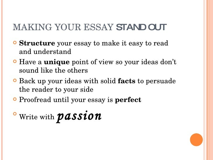 good ways to start your college essay