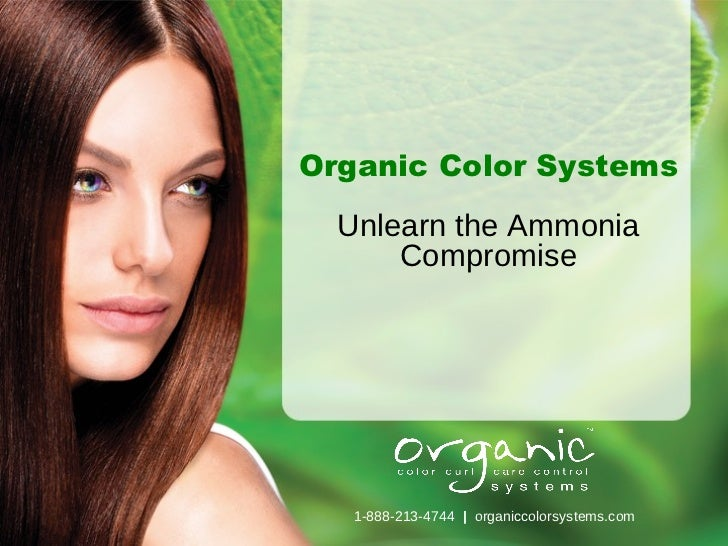 Hair Color - Professional Organic Hair Color