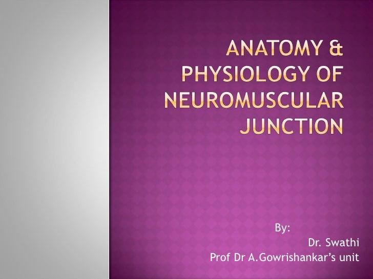 By:  Dr. Swathi Prof Dr A.Gowrishankar's unit
