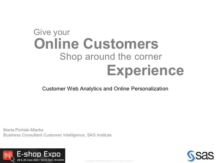 Give your               Online Customers                             Shop around the corner                               ...