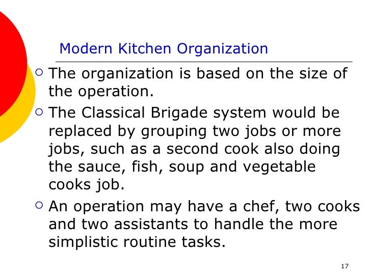 The Food Service Industry