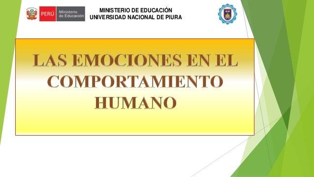 MINISTERIO DE EDUCACIÓN UNIVERSIDAD NACIONAL DE PIURA