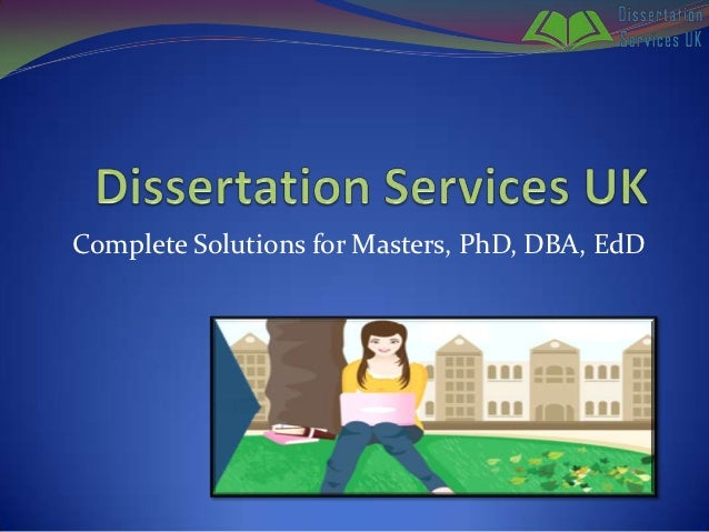 Dissertation Publishing Service