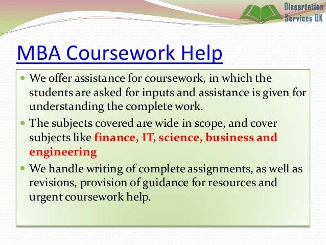 Mba Dissertation Proposal