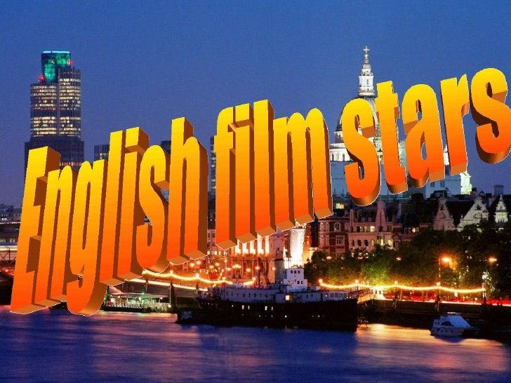 English film stars