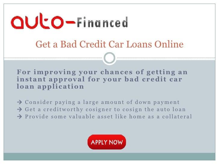 Chicago loans bad credit