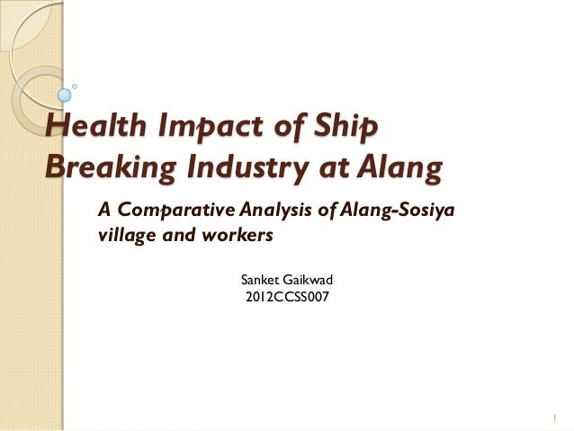 environmental impact of ship breaking industry Environmental impacts are compiled from historical and current data we also describe different activities related to the cruise ship industry to identify costs and benefits to different actors of the local economies.