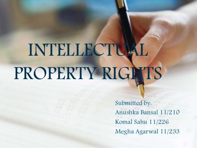 Intellectual property ...