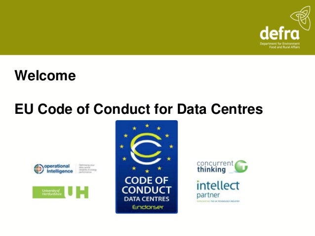 WelcomeEU Code of Conduct for Data Centres