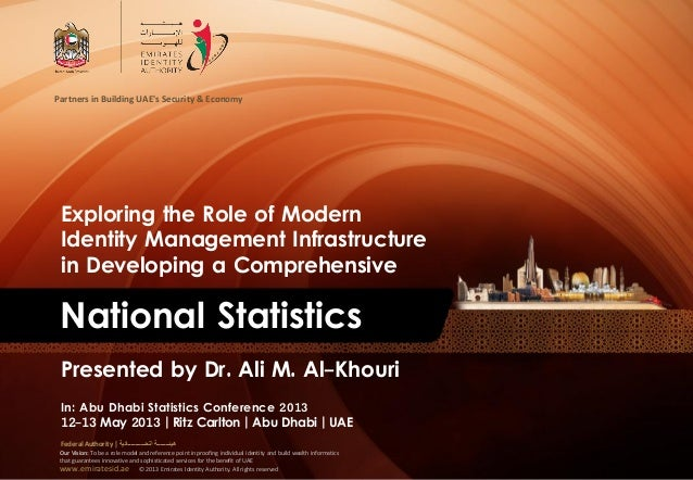 www.emiratesid.ae © 2013 Emirates Identity Authority. All rights reservedPartners in Building UAEs Security & EconomyOur V...