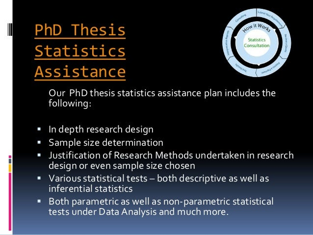 thesis in statistics