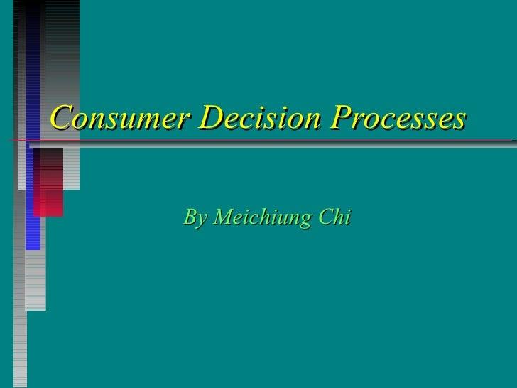 消费者决策过程.ppt