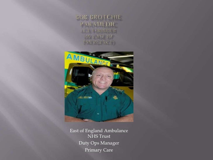 East of England Ambulance          NHS Trust     Duty Ops Manager         Primary Care