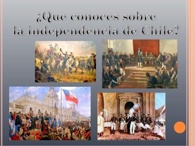 HECHOS DE LA INDEPENDENCIA.   Siglo XVIII.    1730: Terremoto causa una gran destrucción en Santiago y en Chile central....