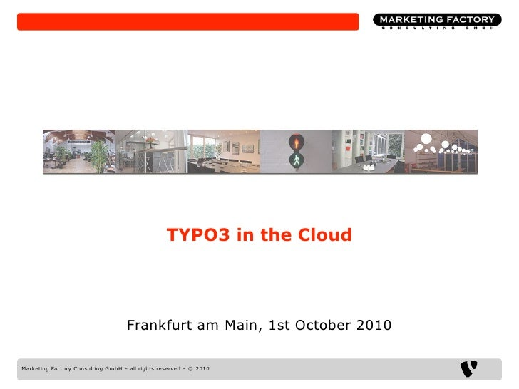 TYPO3 in the cloud