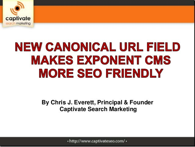 Exponent CMS becomes more SEO friendly