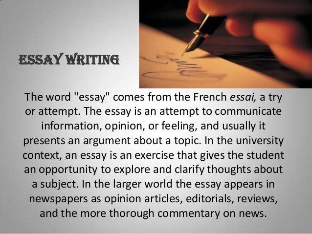 written essay buy