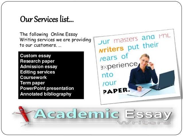 custom essays review